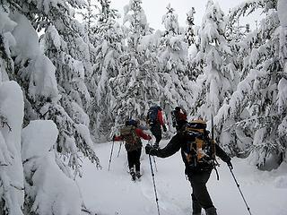 Going up toward Teanaway Ridge