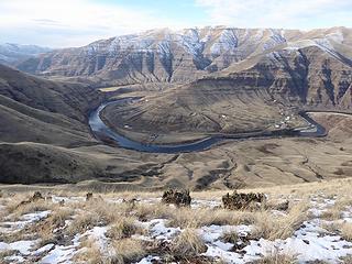 The Grande Ronde River.