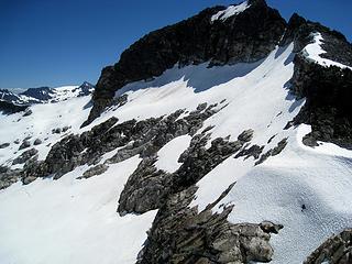 bruseth and glacier