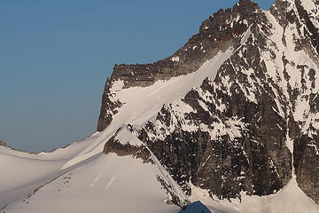 Large crown on Mount Redoubt