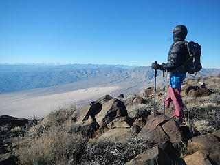 Panamint Valley below