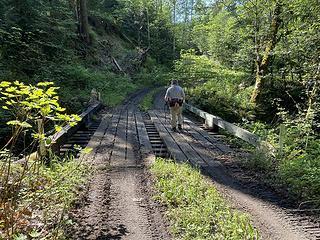 Bridge over Creek #1