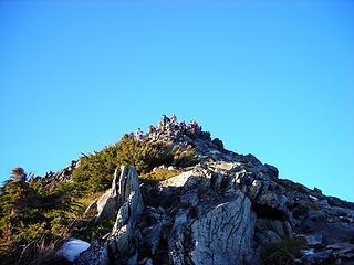 Crowded Summit