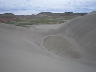 "The ""dune crater"""