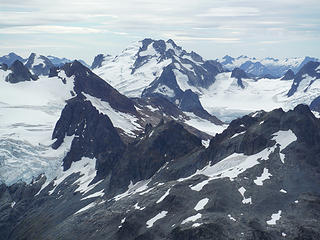 Dome Peak, from Formidable