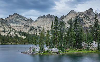 Alice Lake, Sawtooth Wilderness, Idaho