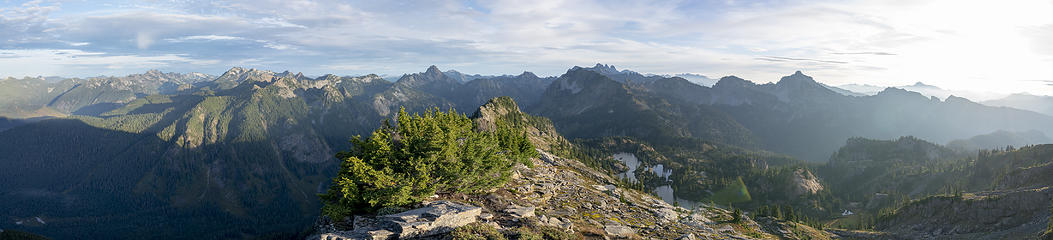 Rampart Ridge panorama