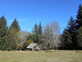 George Anderson homestead barn Queets Valley Olympic National Park Oct 2018 02