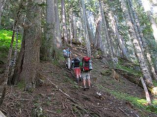 climbers trail