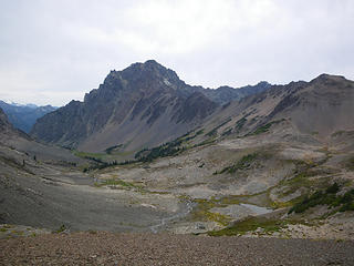 first view of Deception Basin