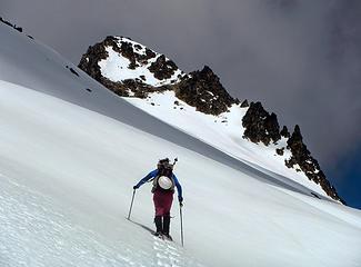 summit block ahead