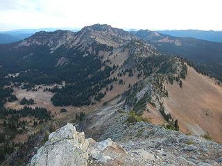 peaks north of Dege