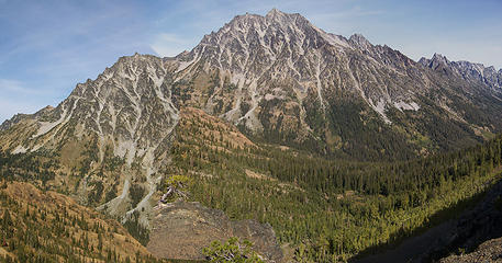 Mt Stuart from Longs Pass