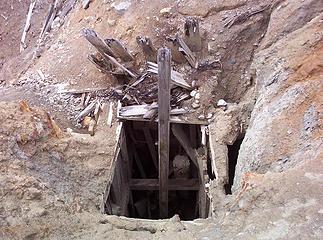 Creepy mine shaft.