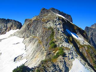 Thornton's summit ridge