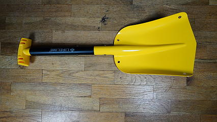 aluminum lifelink shovel top