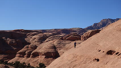 Traversing across the first dome