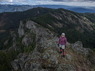 On West Peak