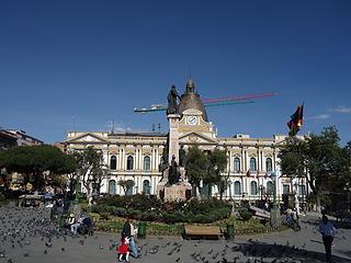 Bolivian Capitol Building
