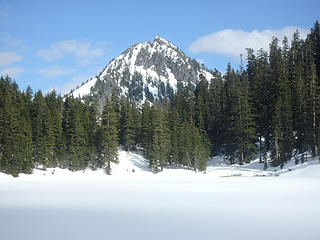Upper Wildcat Lake and Wright Mountain