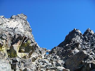 chockstone gully
