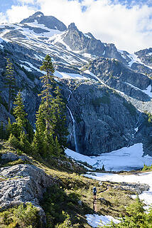 First views of Glacier Lake