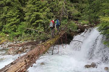Terror Creek crossing