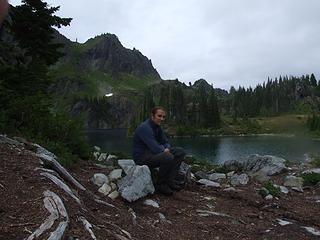 Son at Hart Lake