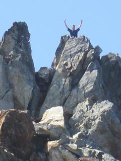 Derek atop Mt. Seattle