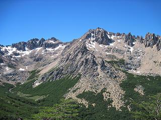 Cerro Catedral Norte, one of our destinations