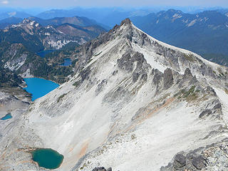 5 lakes and Lynch north peak