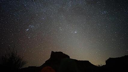 Astrophotography of Utah Night Sky
