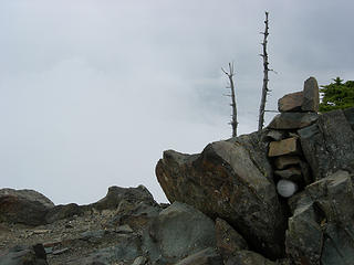 Summit register 5701 ft/7.2 mi