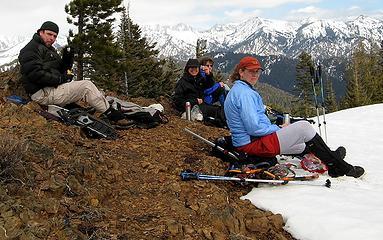 Teanaway Butte Summit Group