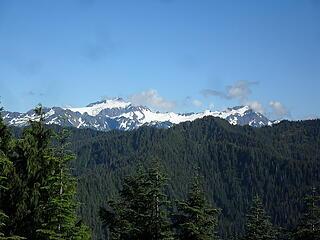 View of Mt Olympus