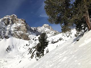The sidehill traverse