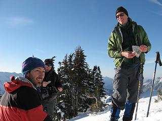 Matt, Mark and Jon on Dickerman