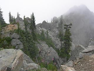 More summit fog