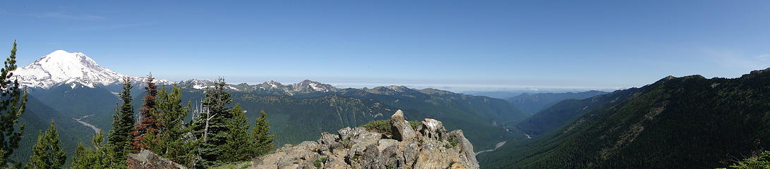 Pano1 from Crystal Peak.