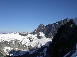 Seahpo Peak and Jagged Ridge.