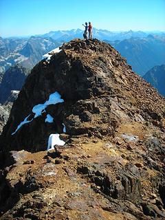 Matt and Carla on summit