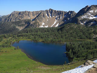Corral Lake, Pasayten Wilderness 7/13 to 7/17/17