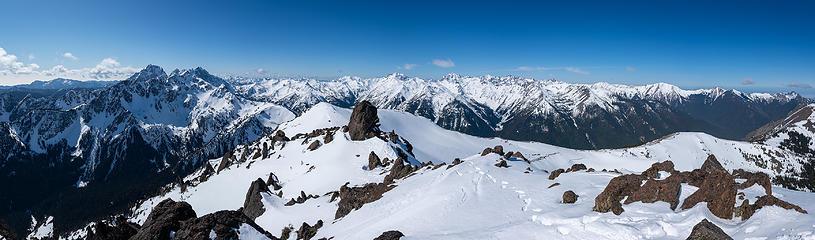 Buckhorn summit views