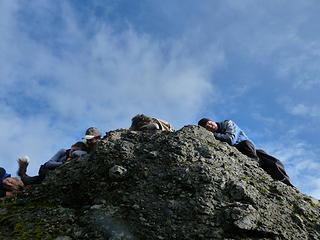 Snoozin' on Snooze Peak