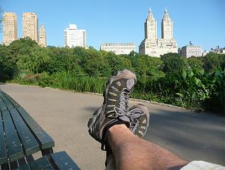 Central Park Shoe Shot