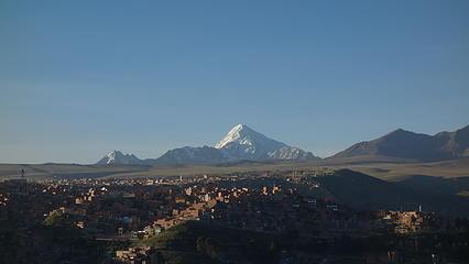 Huayna Potosi from El Alto