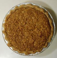 pear apple pie with walnut oatmeal brown sugar crust 121319