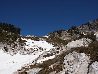 easy terrain ahead