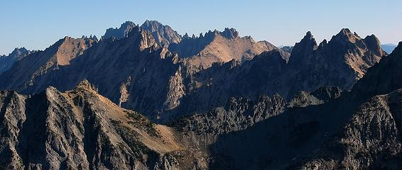 Pointiest Crest in the Cascades – Silverstar, Kangaroo Ridge, Snagooth Ridge