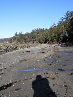 Ozette Triangle looking North